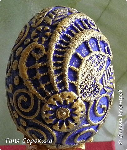 Добрый день, мои дорогие друзья! Не знаю, украшал ли кто-нибудь яйца, как это делаю я, в интернете ничего похожего не нашла, потому делаю мастер-класс по ещё одному виду украшения пасхальных яиц. На первом фото корзинка из бумажной лозы, подаренная мне чудесной мастерицей Олечкой (Оль Ха), у меня так и не хватает времени освоить эту чудесную технику. фото 20