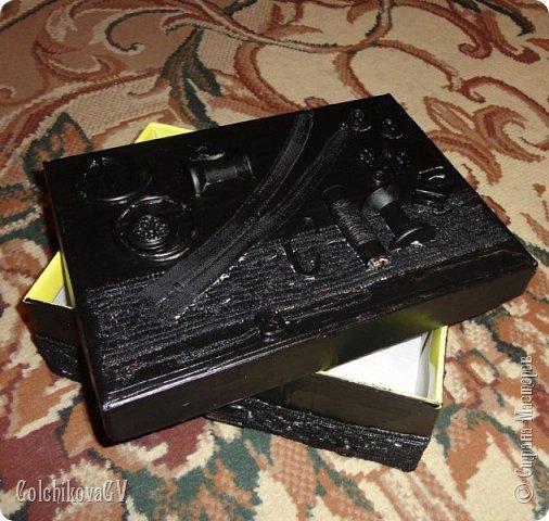 Доброго времени суток, дорогие мастера! Закончила сегодня коробку для ниток и хочу Вам ее показать.  фото 5