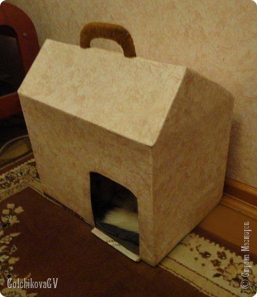 Доброго времени суток, дорогие мастера!  Решила я своей Клепе сделать новый домик, старый: http://stranamasterov.ru/node/233728?t=1353 слегка потрепался, кое-где стала отставать пленка. Он итак служил верой и правдой 6 лет.   фото 4