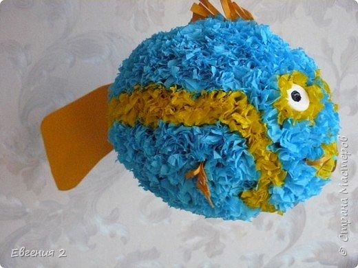 """Торцевание: Рыбка в технике """"Торцевание"""",мои работы"""