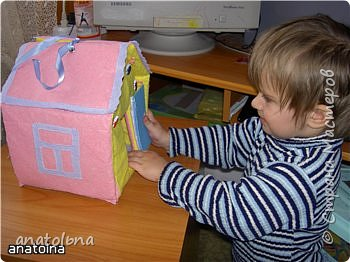 Игрушка мягкая: Домик-игрушка фото 3