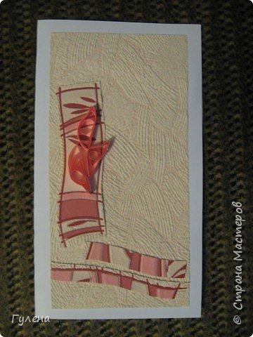 Квиллинг: Весенние открытки фото 4