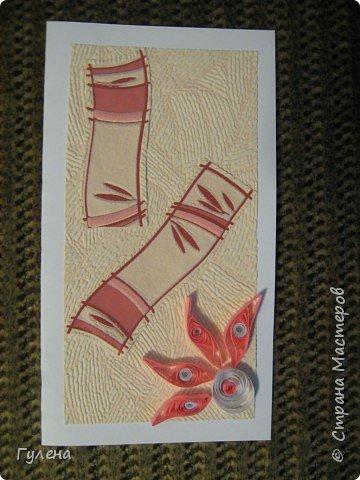 Квиллинг: Весенние открытки фото 3