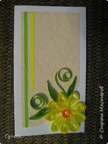 Квиллинг: Весенние открытки фото 1