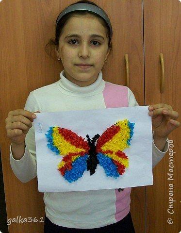 Торцевание: Бабочка