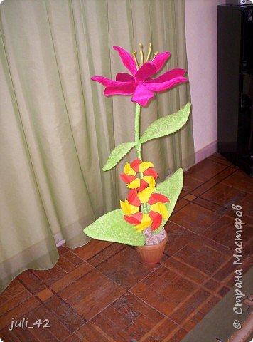 """Оригами модульное: Символ сада - """"Айголёк"""", в переводе """"лунный цветок"""" фото 1"""