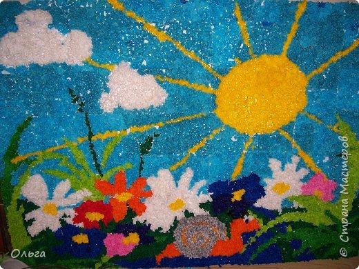 """Торцевание: """"Разноцветное лето"""""""