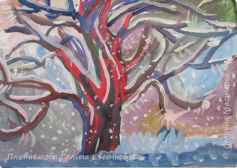 Рисование и живопись: А из нашего окна...