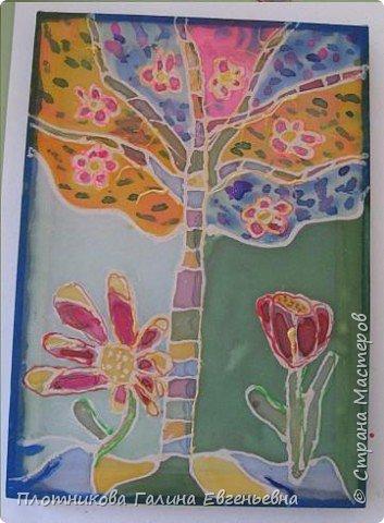 Батик: Весна