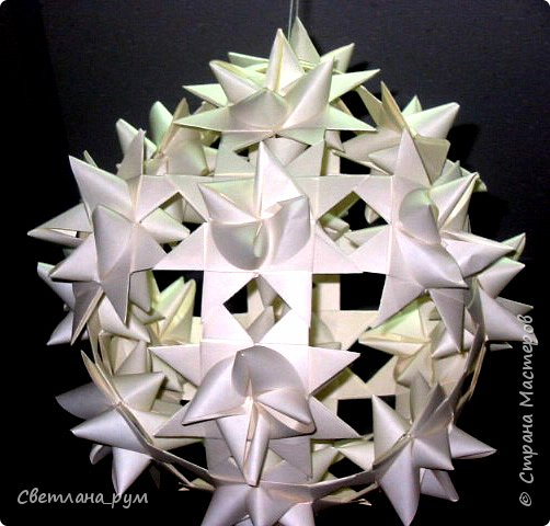 Бумагопластика, Оригами модульное: Бумагопластика