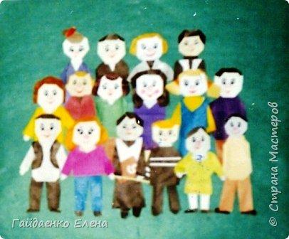 Аппликация, Бумагопластика, Оригами: Портрет класса