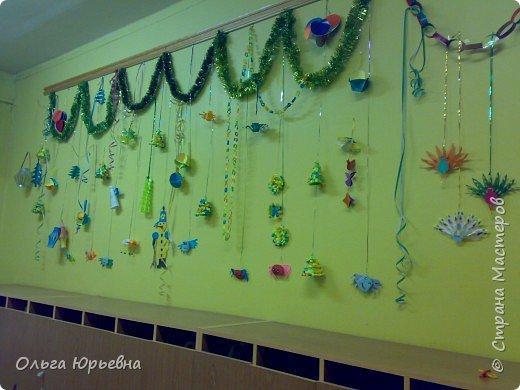 Аппликация, Бумагопластика, Оригами: Коллективные работы дошкольников. фото 6