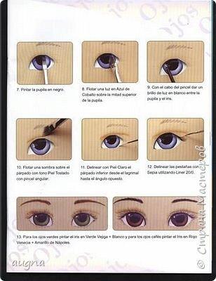 Рисуем глазки. фото 9