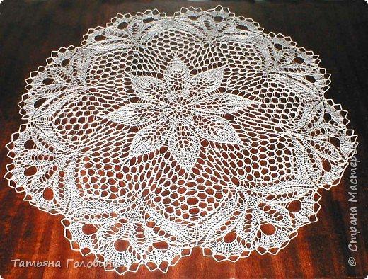 Вязание спицами: салфетки фото 1