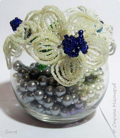 Бисероплетение: Цветы фото 1