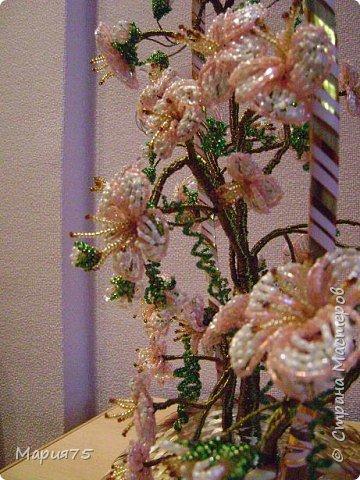 Бисероплетение: Сакура фото 3