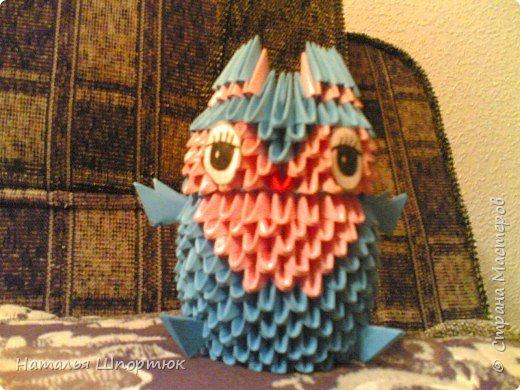 Оригами модульное: Совёнок Непоседа