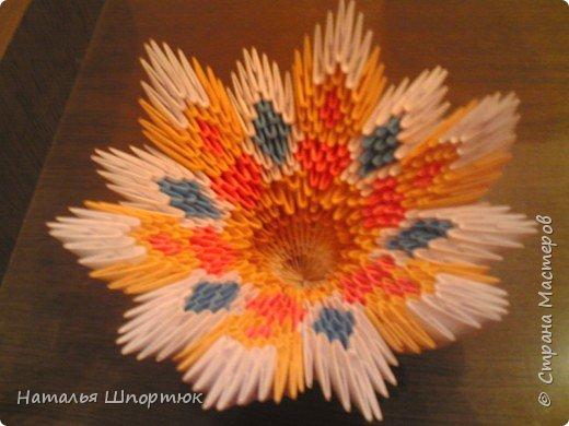 Оригами модульное: Конфетница