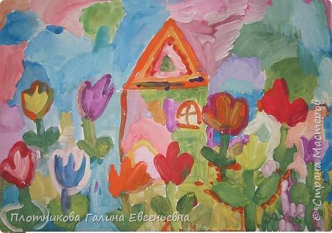 Рисование и живопись:  Весна на даче