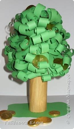 Аппликация: Сладкое денежное дерево