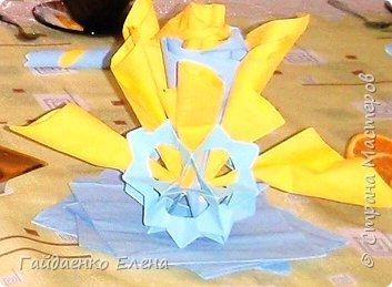Оригами, Оригами модульное: Кусудама-салфетница