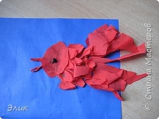 Бумагопластика: Рыбки фото 2