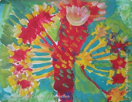 Рисование и живопись:  Смеющееся деревце