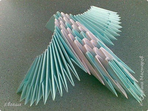 Оригами модульное: Птица счастья фото 2