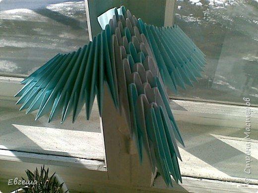 Оригами модульное: Птица счастья фото 1