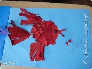 Бумагопластика: Рыбки фото 3