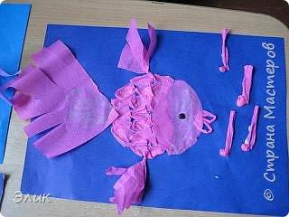 Бумагопластика: Рыбки фото 4