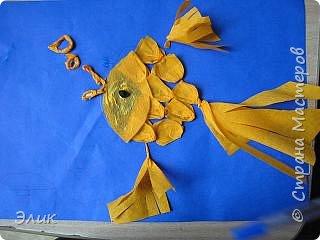 Бумагопластика: Рыбки фото 5