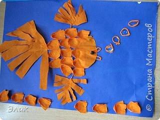 Бумагопластика: Рыбки фото 6