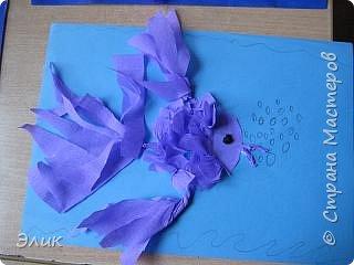 Бумагопластика: Рыбки фото 8