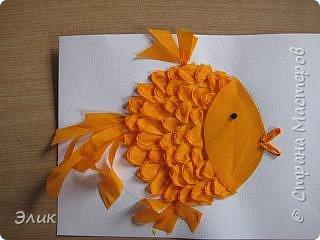 Бумагопластика: Рыбки фото 1