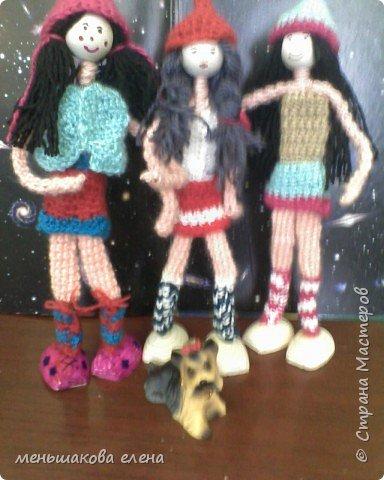 Вязание крючком: вязаные куклы