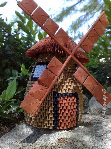 Оригами модульное: Мельница