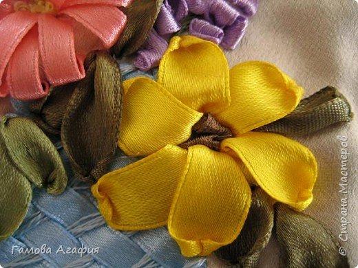 Вышивка: Букет луговых цветов фото 4