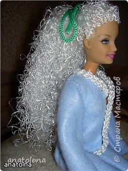 Новые волосы для Барби фото 3