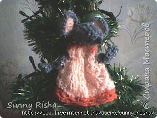 Вязание, Вязание крючком: Танцующая мышка