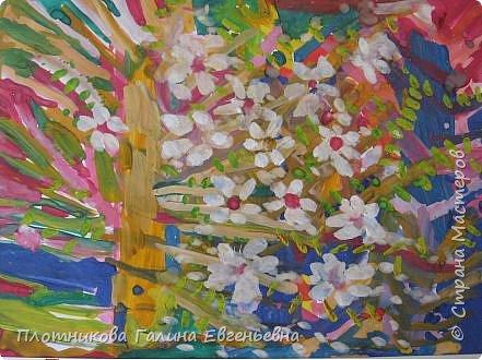 Рисование и живопись: Скоро вишни зацветут