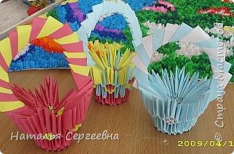 Оригами модульное: Первые работы фото 4