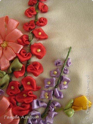 Вышивка: Букет луговых цветов фото 2