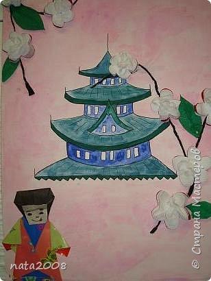Оригами: Япония. Цветение сакуры. фото 1