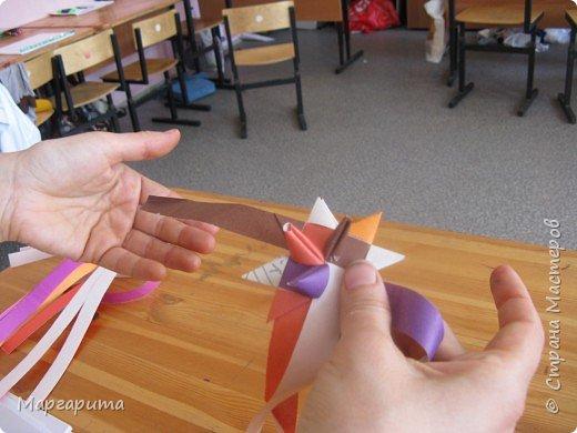 Вот такие цветы мы делаем с ребятами в 3 - 4 классе фото 43