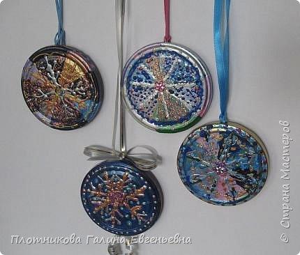 Роспись: Медали Деда Мороза
