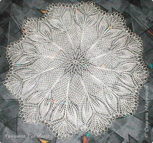 Вязание спицами: салфетки фото 3
