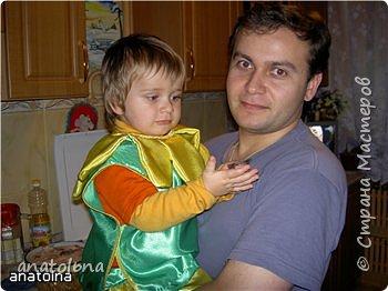 """Костюм""""ЦВЕТОЧКА"""" моего сыночка фото 4"""