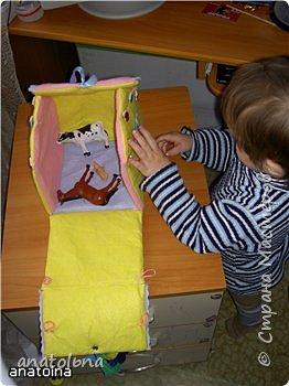 Игрушка мягкая: Домик-игрушка фото 4
