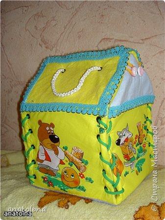 "Домик-сумка ""КОЛОБОК"" фото 2"